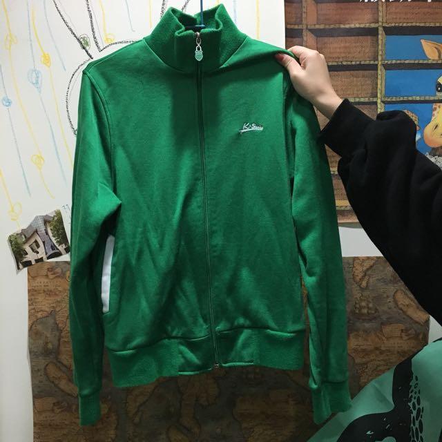 K-Swiss 綠色運動外套