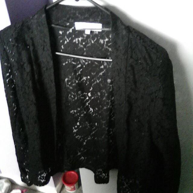 Lacy blazer