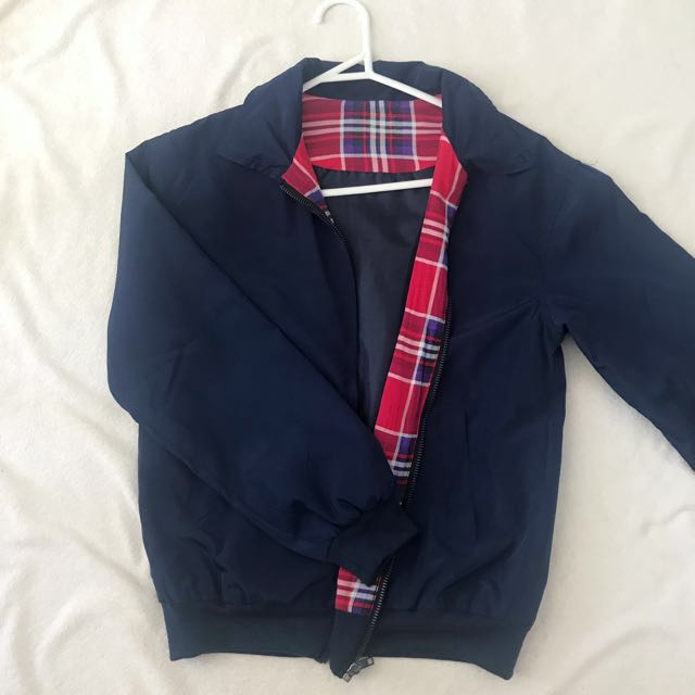 light navy jacket