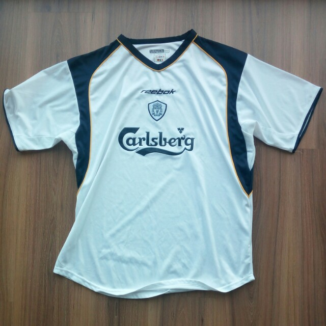 f73e2ee0d44 Liverpool FC 2001 away jersey jersi