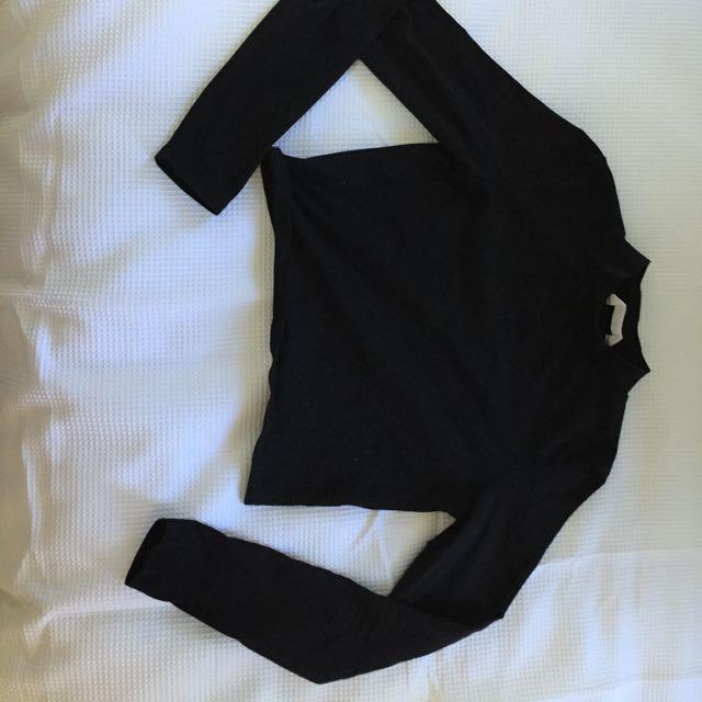 long sleeve black