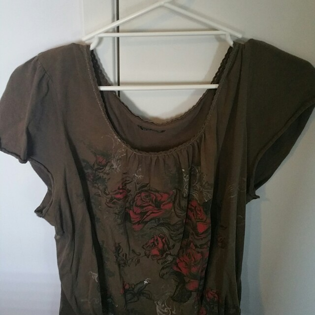 LOT OF 3 LADIES SIZE 24 CASUAL SUMMER SHIRTS