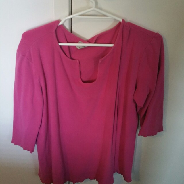 LOT OF 4 LADIES SIZE 24 CASUAL SUMMER SHIRTS