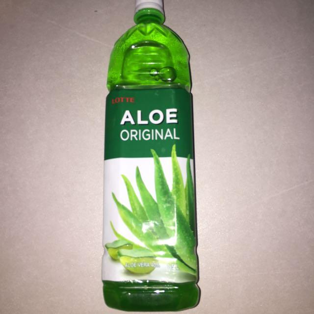 Lotte aloe drink 1.5Liter