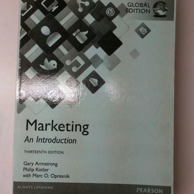 Marketing An Introduction 13e
