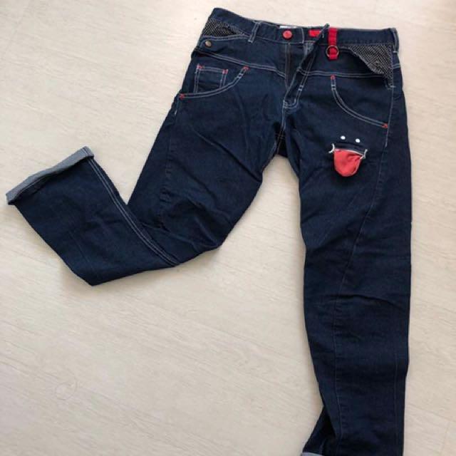 "MEN denim Japanese Handcrafted Jeans 30-32"""