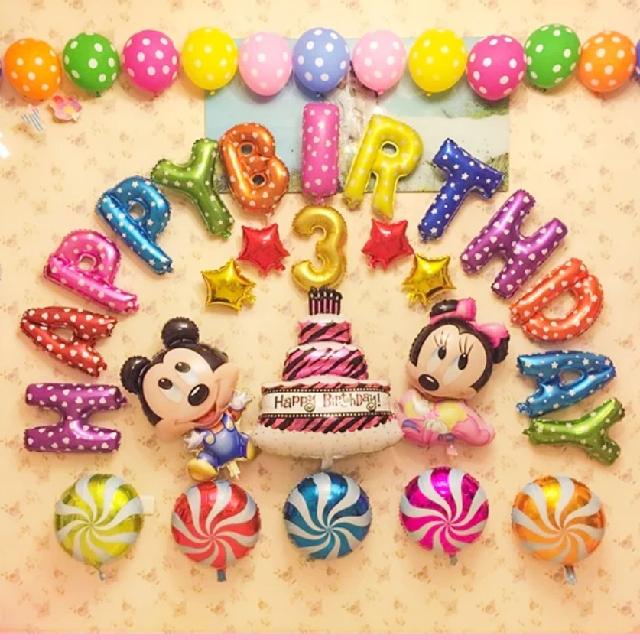 Mickey Mouse Balloon party set氣球套裝