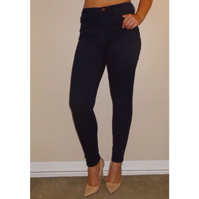 Mid-waist Skinny Jean 7/8