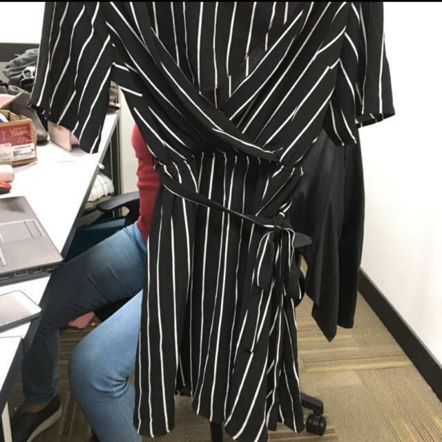 New look stripes mini dress
