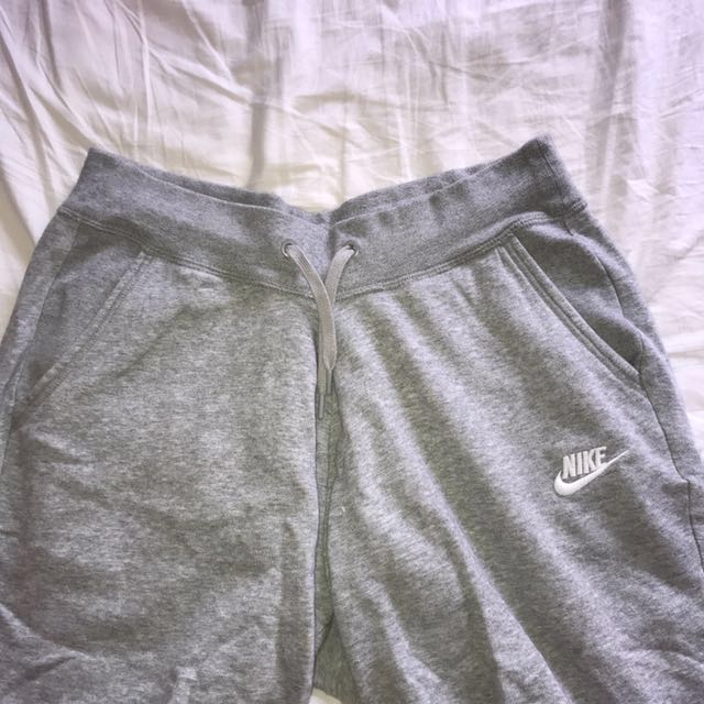 Nike grey trackies