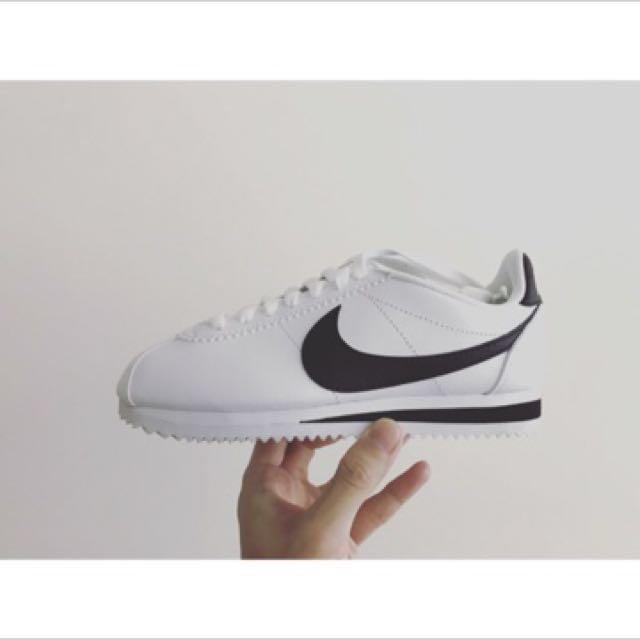 Nike Wmns classic Cortez leather阿甘鞋23