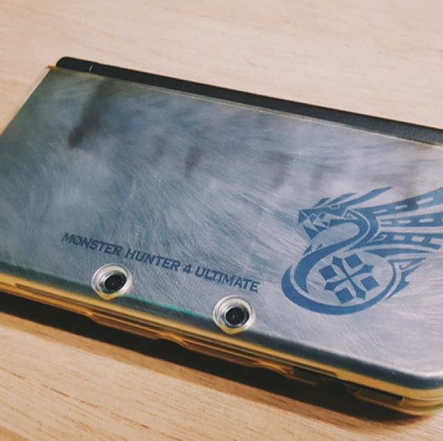 Nintendo N3DS LL Monster Hunter Limited Edition