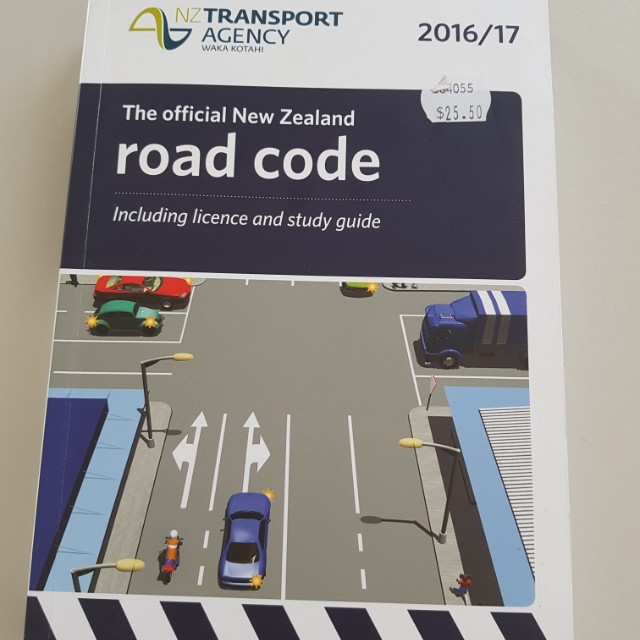 NZ road code book perfect condition