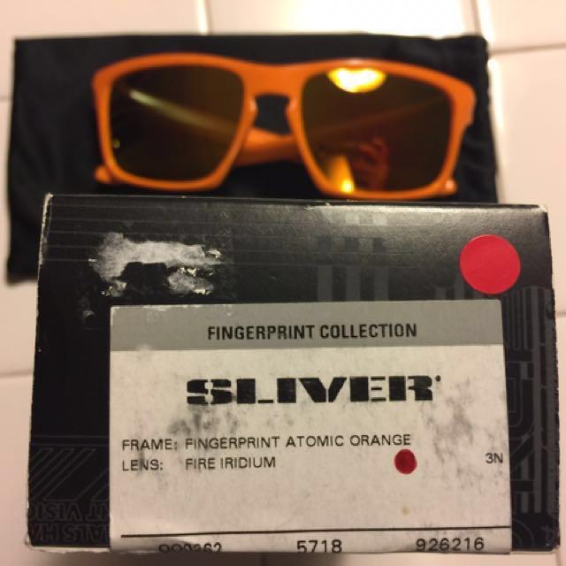 748a8ebd84 Oakley Sliver Atomic Orange Fire Lens Fingerprint Collection