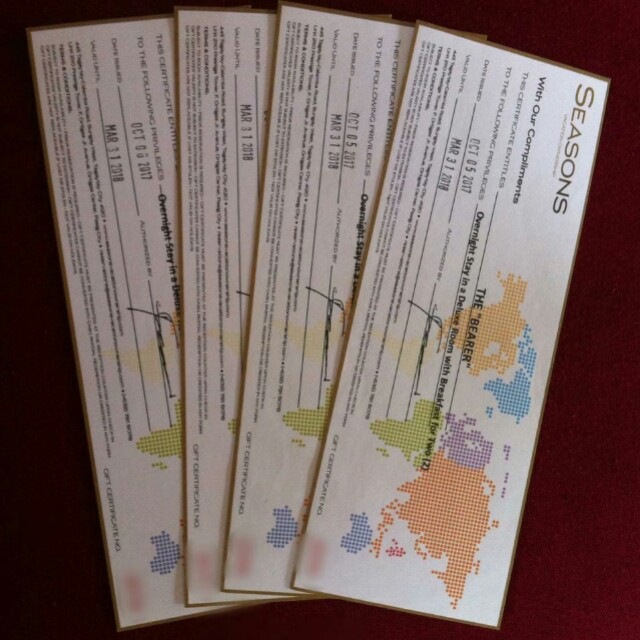 One Tagaytay Gift Certificate/Voucher