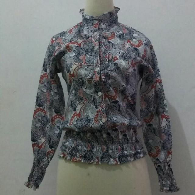Paisley pattern shirt