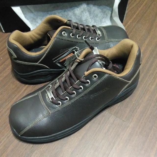 全新pamax 帕瑪斯 安全鞋 工作鞋 鋼頭鞋 尺寸 US 9 黑色 銀纖維 超彈跳 鞋墊 止滑