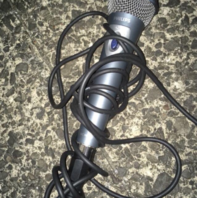 Philips microphone