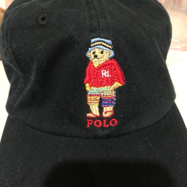 POLO熊經典刺繡棒球帽