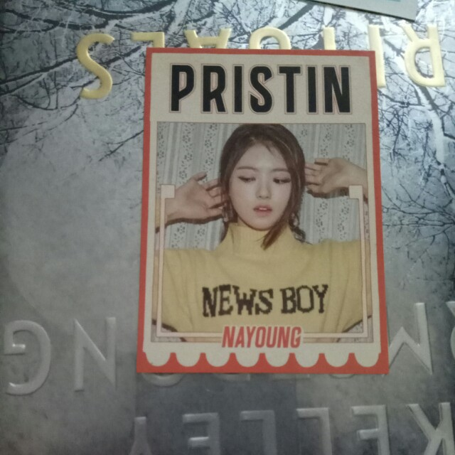 Pristin Nayoung Official Profile Card