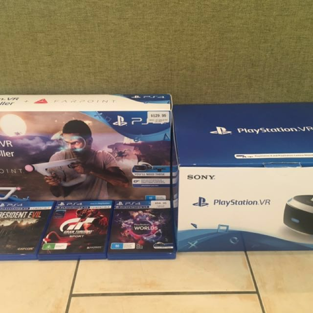 PS4 VR headset & accessories