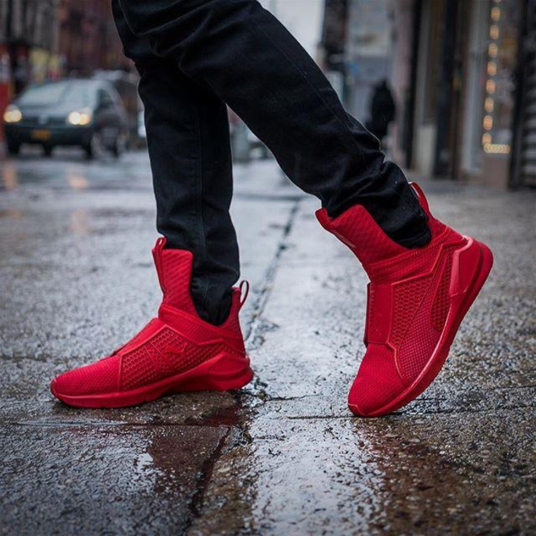 hot sales 84044 8f344 PUMA Fenty Trainer - Rihanna Collection Red Alert