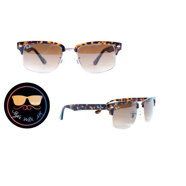 1143bee4eb Ray Ban Clubmaster Square RB4190 878 51