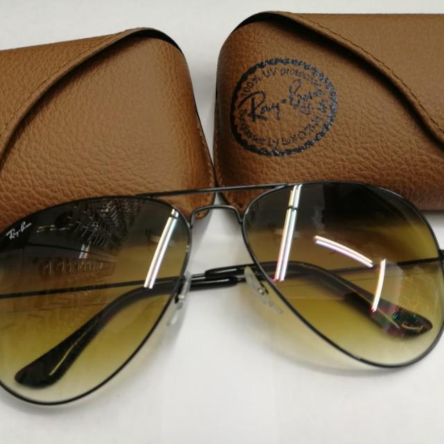 74c9b174ebba2 Rayban Aviator 5A Sunglasses Size 62