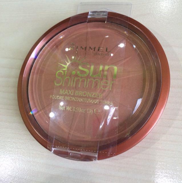 Rimmel Sunshimmer Maxi Bronzer [ code: 004 Sun Star ]