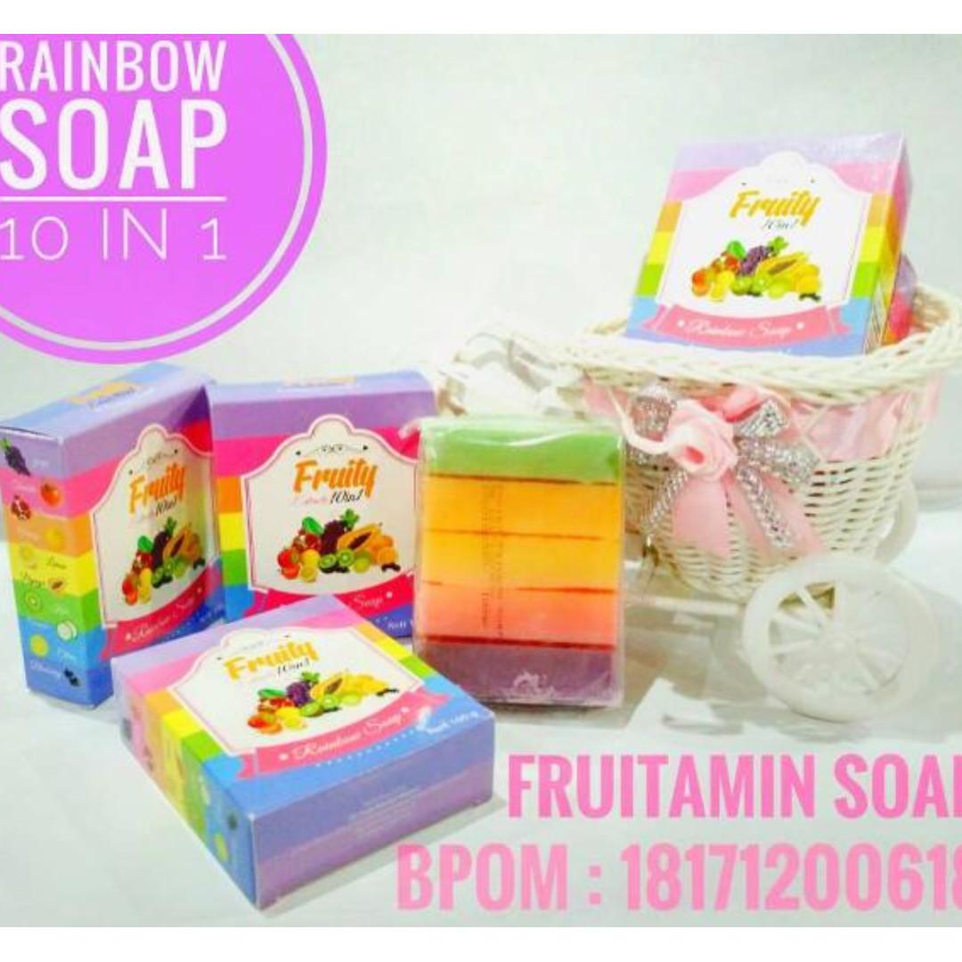 Sabun Fruity Fruitamin BPOM