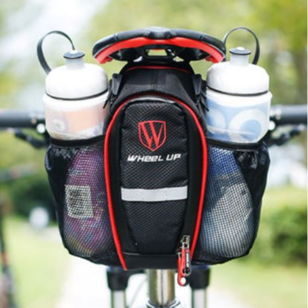 Saddle Bag With Water Bottle Holder Bicycles Pmds Bicycles On Carousell