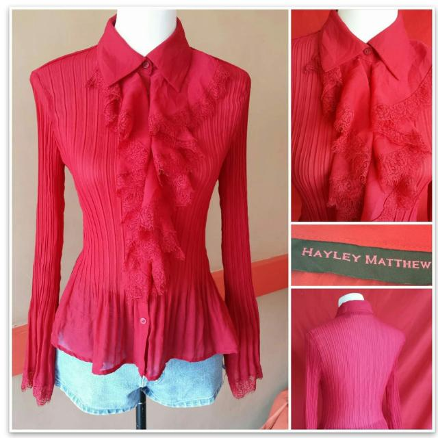 REPRICED! US Brand Blouse