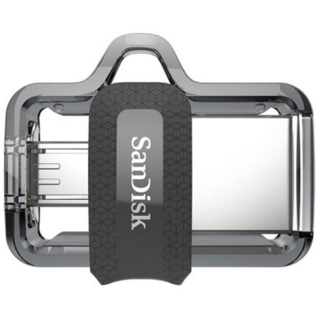 SANDISK OTG ULTRA DUAL USB DRIVE 3.0 FOR ANDRIOD PHONES