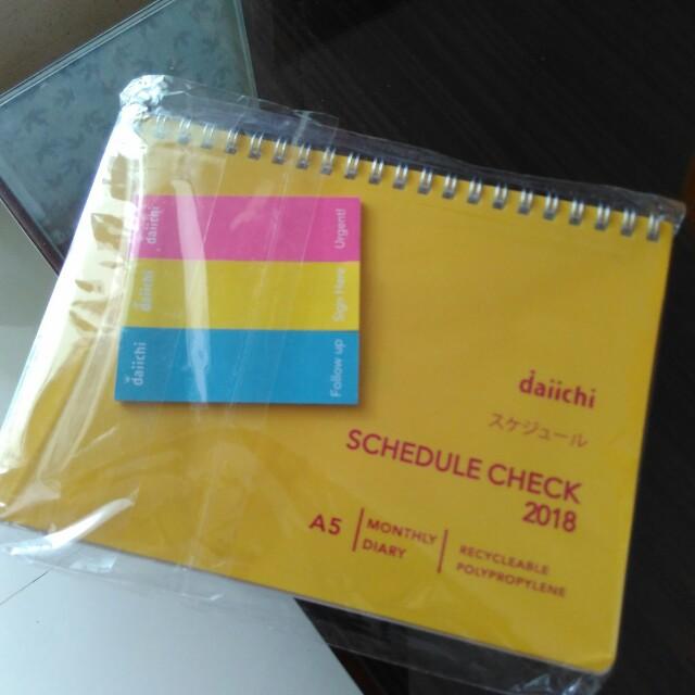 Schedule check 2018