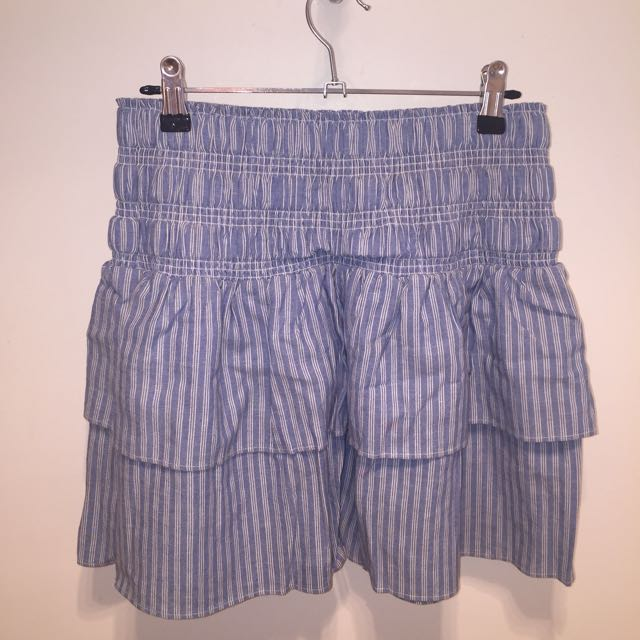 Seed stripe Rahrah skirt