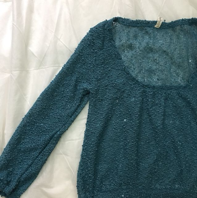 Sequin top for