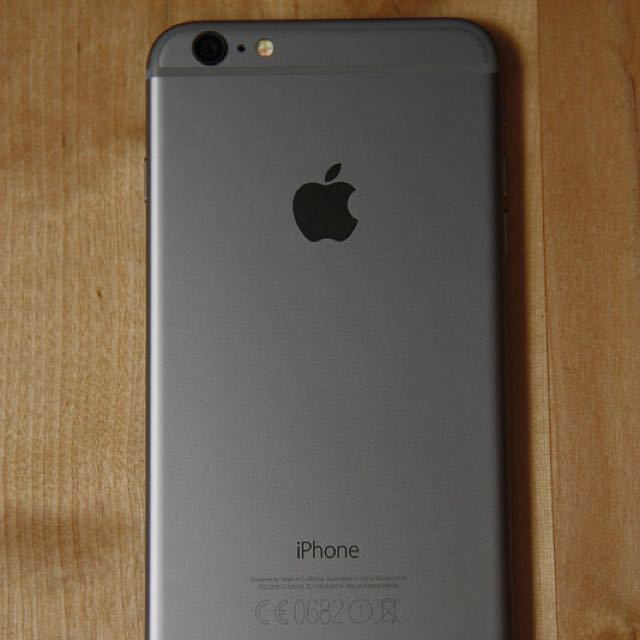 Space Grey IPhone 6 Plus