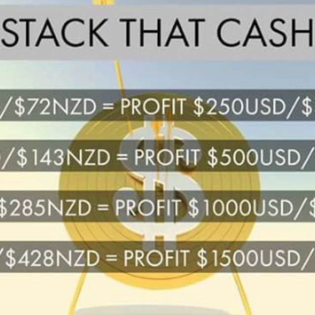 Stack that cash cycler system