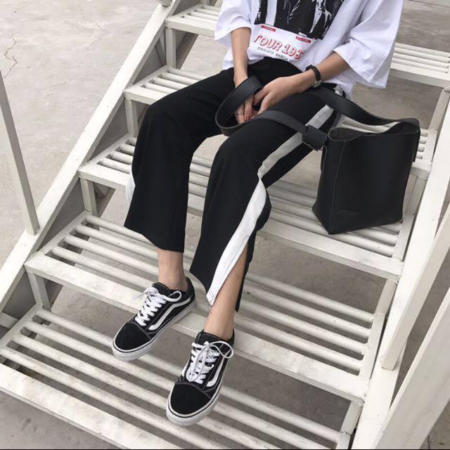 Stripe Pants/ Track Pants