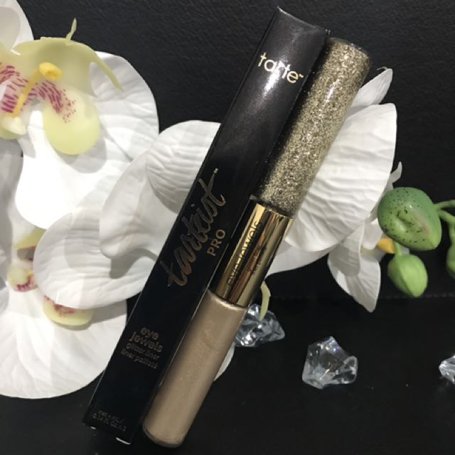 Tarte Pro Eye Glitter Liner White Gold
