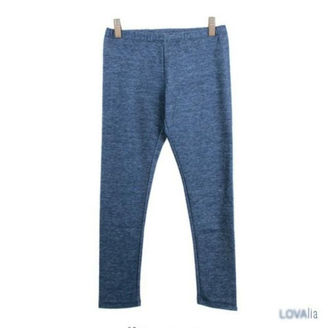 Total Girl Navy Denim Jeans Legging Yoga Olahraga Casual Daily Everyday