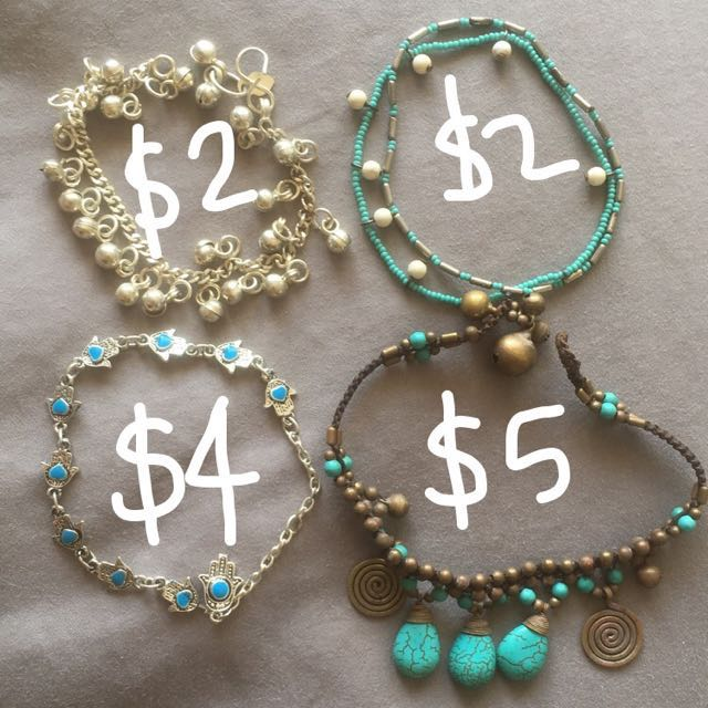 Various Anklets