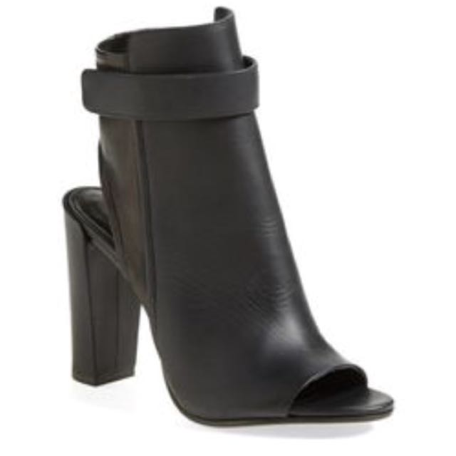 Vince open toe cut out boot