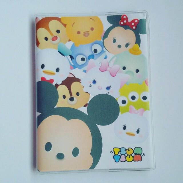White Tsum tsum Mini Notebook