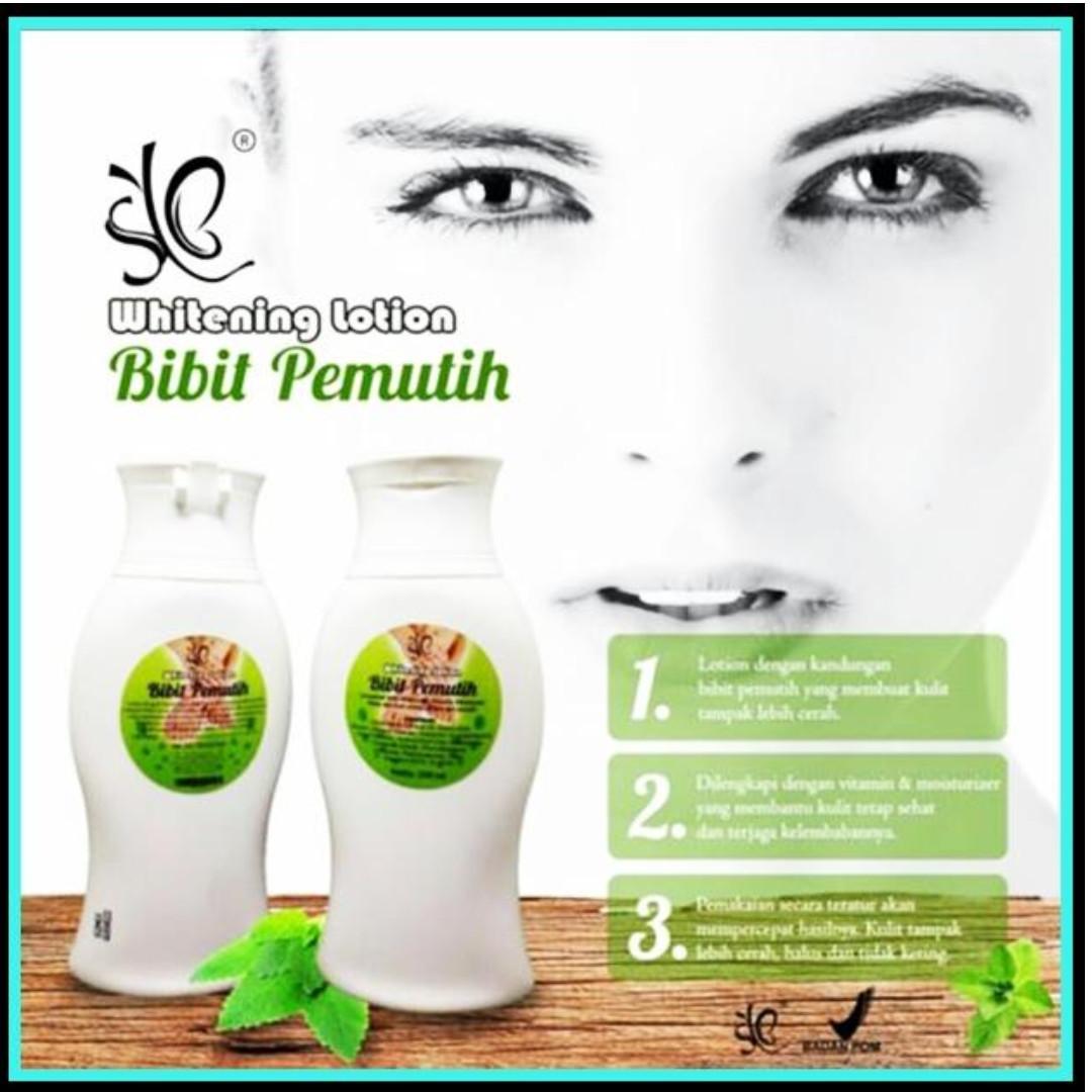 Bibit Pemutih Whitening Lotion Badan Bpom 100ml 2 Botol Original Body By Syb Source Photo