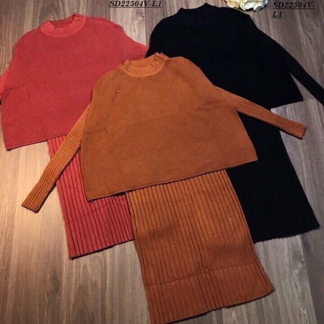 Winter dress set