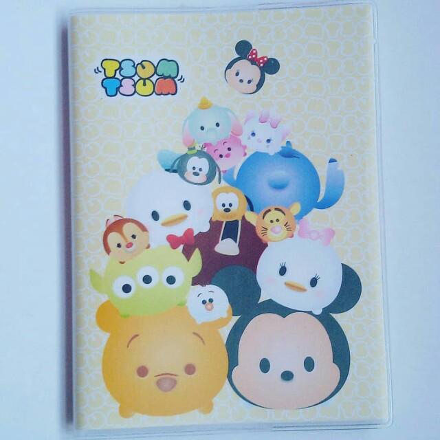 Yellow Tsumtsum Mini Notebook