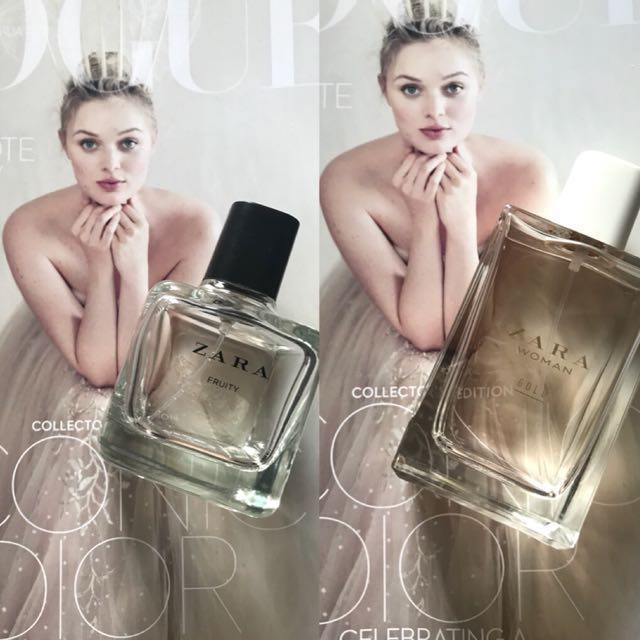 Zara gold / zara fruity perfume fragrance