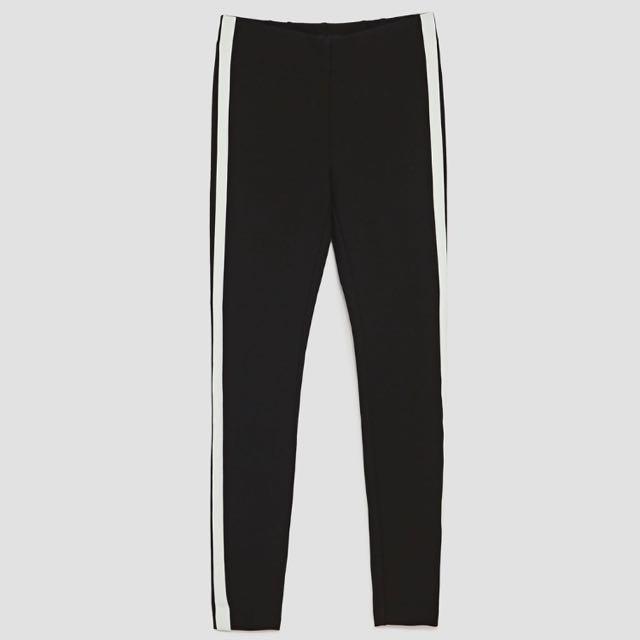 Zara Side stripe Tights
