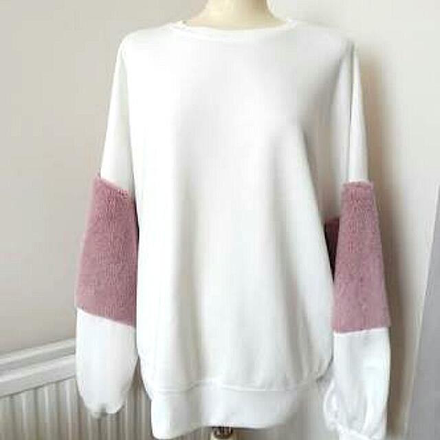 Zara Sweater Furry Pink